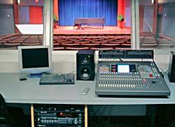 Recital hall console