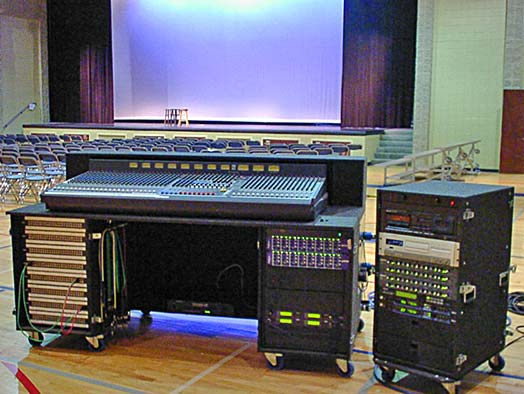 FOH Mixing Station
