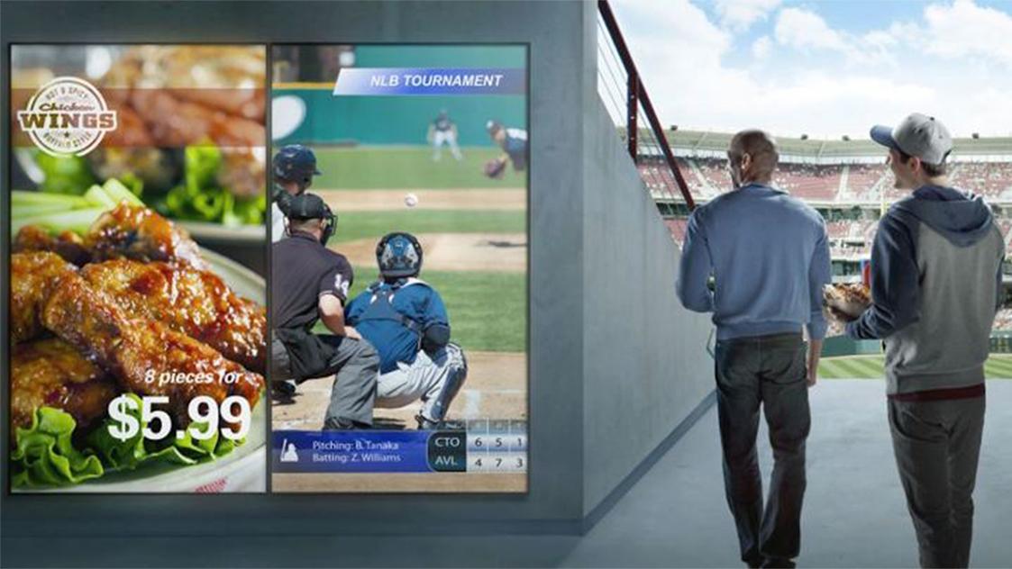 ballpark-digital sign